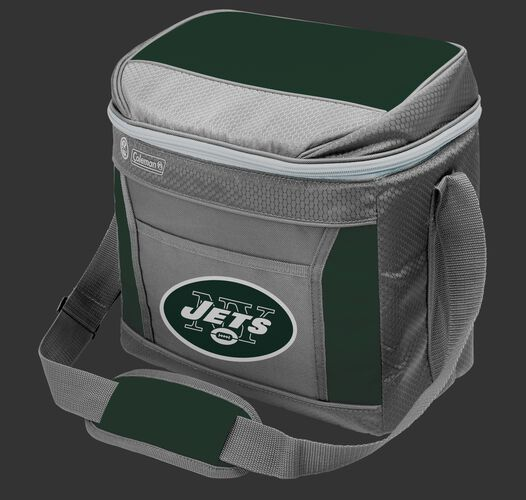 Rawlings New York Jets 16 Can Cooler In Team Colors With Team Logo On Front SKU #03291079111
