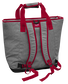 Back of a gray Kansas City Chiefs tote cooler image number null