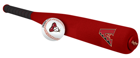 MLB Arizona Diamondbacks Foam Bat and Ball Set