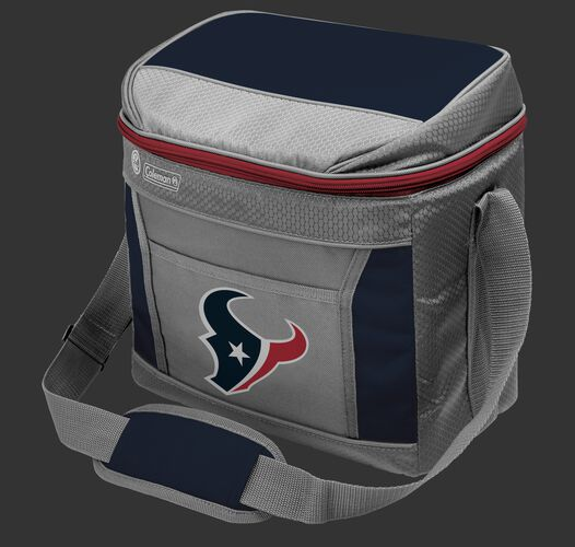 Rawlings Houston Texans 16 Can Cooler In Team Colors With Team Logo On Front SKU #03291093111