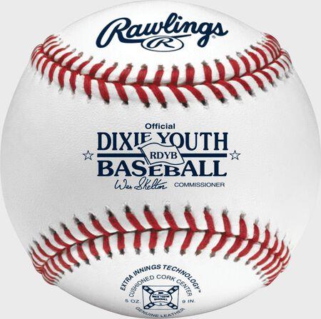 Dixie Youth Baseball Official Baseballs