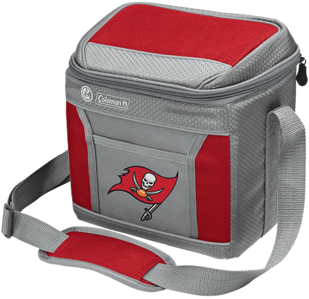 Rawlings Tampa Bay Buccaneers 9 Can Cooler In Team Colors With Team Logo On Front SKU #03281086111
