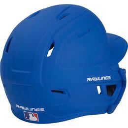 Mach Senior One-Tone Matte Helmet with EXT Flap Royal