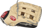 PRO3039-6CBFS Heart of the Hide 12.75-inch outfield finger shift glove with a camel thumb and H web image number null