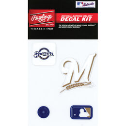 MLB Milwaukee Brewers Decal Kit