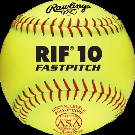 """ASA RIF Official 12"""" Softballs"""