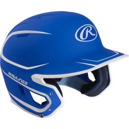 Mach Senior Two-Tone Matte Helmet Royal