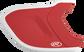 Scarlet/White MEXT2L Mach EXT Two-Tone batting helmet extension