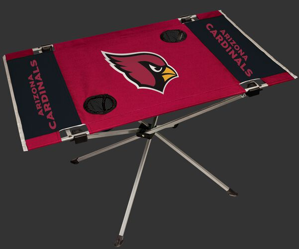 Rawlings Cardinal and Black NFL Arizona Cardinals Endzone Table With Two Cup Holders, Team Logo, and Team Name SKU #03391081111