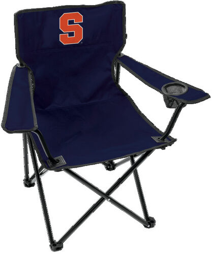 Front of Rawlings Navy Blue NCAA Syracuse Orange Gameday Elite Chair With Team Logo SKU #00563060111