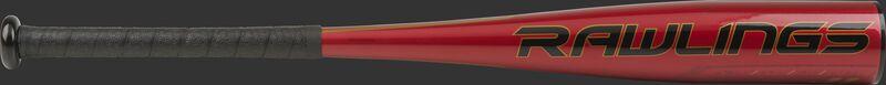 UTZQ11 USSSA Quatro Pro -11 bat with a red barrel and black grip