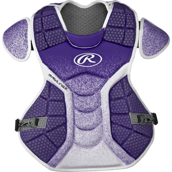 Velo Adult Chest Protector Purple/White