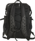 Back of a black Rawlings CEO coach's backpack with black padding and shoulder straps - SKU: CEOBP-B image number null