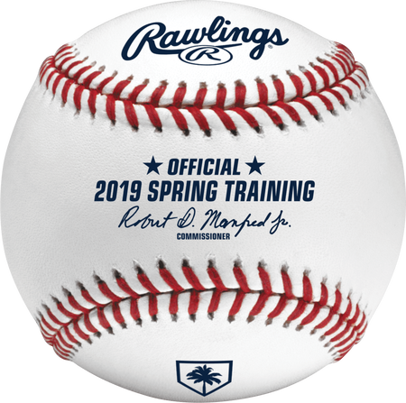 MLB 2019 Florida Spring Training Baseballs