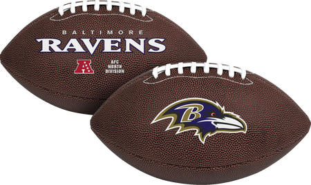 NFL Baltimore Ravens Air-It-Out youth football with team logo