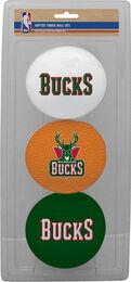 NBA Milwaukee Bucks Three-Point Softee Basketball Set