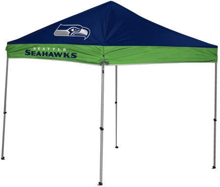 NFL Seattle Seahawks 9x9 shelter with 4 team logos