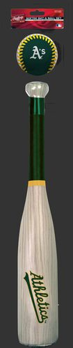 MLB Oakland Athletics Bat and Ball Set