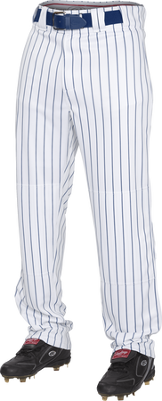 Youth Semi-Relaxed Pinstripe Baseball Pant Navy