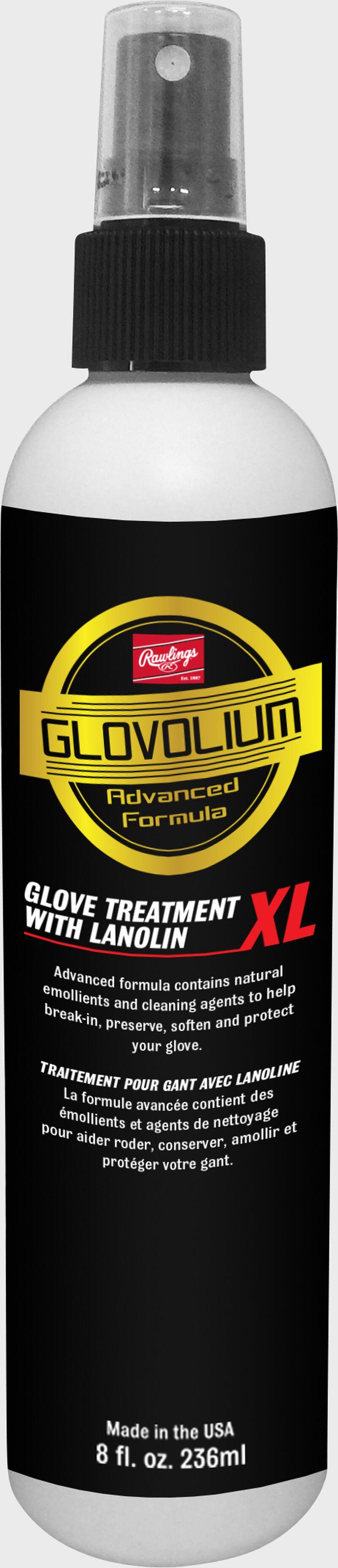 A black G25XL Glovolium XL glove treatment spray bottle SKU #G25XL
