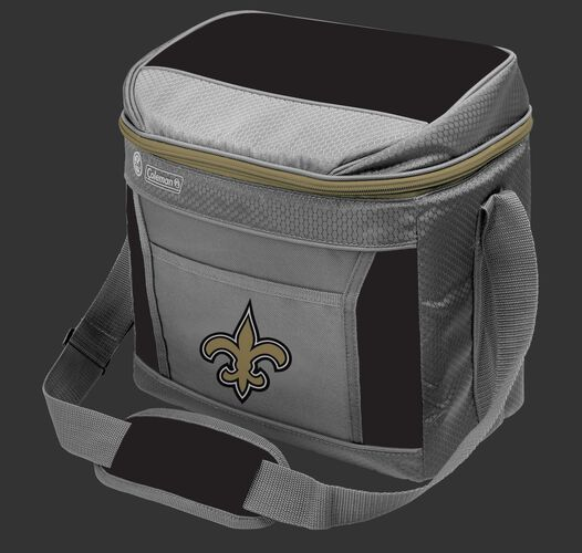 Rawlings New Orleans Saints 16 Can Cooler In Team Colors With Team Logo On Front SKU #03291077111