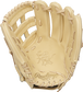Camel palm of a HOH R2G Kris Bryant glove with a camel web and laces - SKU: PRORKB17 image number null