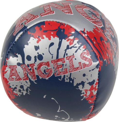 Rawlings Los Angeles Angels Quick Toss 4'' Softee Baseball With Team Name On Front In Team Colors SKU #0132000112