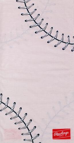A pink stitch Rawlings multi-use neck gaiter - SKU: RC40001-681