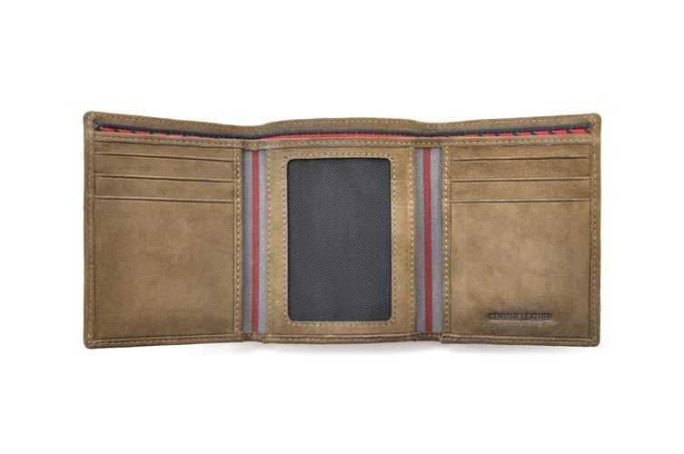 Double Steal Tri-Fold Wallet