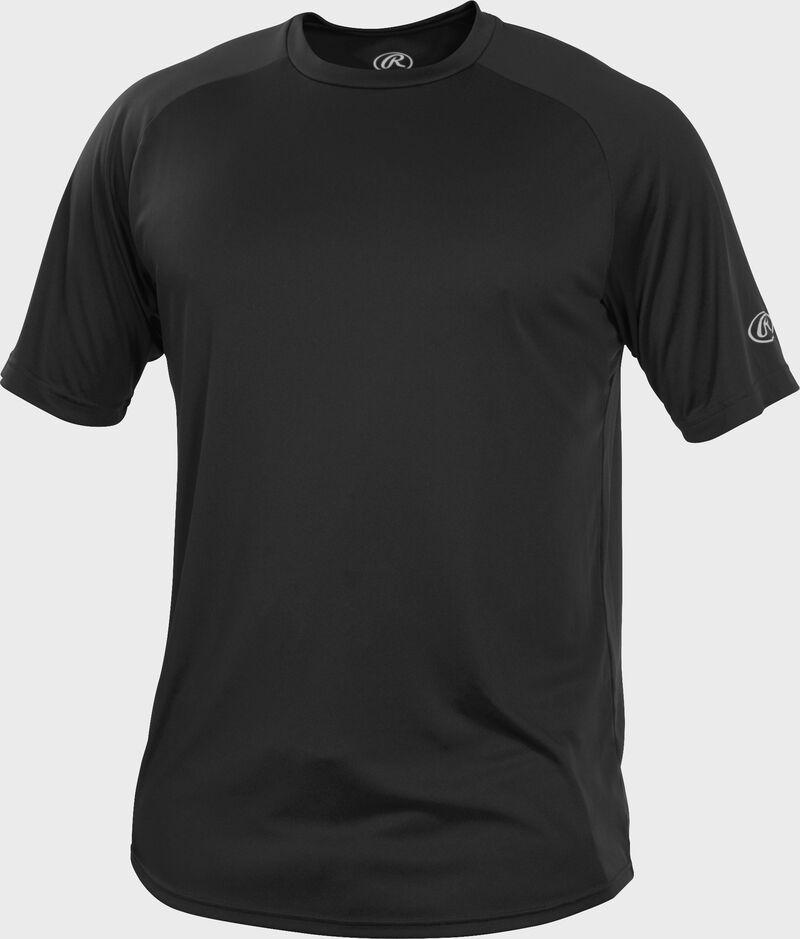 RTT Black Adult crew neck short sleeve jersey