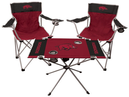 NCAA Arkansas Razorbacks 3-Piece Tailgate Kit
