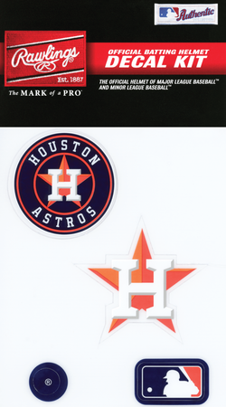 MLB Houston Astros Decal Kit