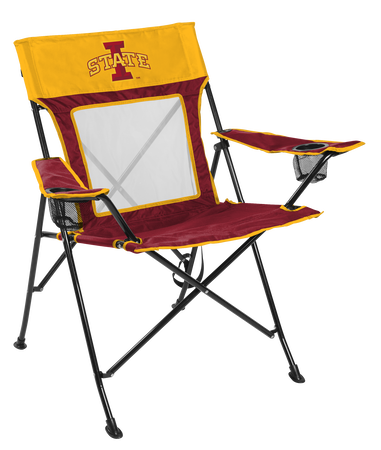 NCAA Iowa State Cyclones Game Changer chair with the team logo