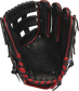 Black palm of a Rawlings G57 Isiah Kiner-Falefa glove with black laces - SKU: RSGPRO205-IKF9 image number null