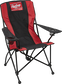 A black/red Rawlings high back chair with a Rawlings patch logo at the top - SKU: 00184043511 image number null