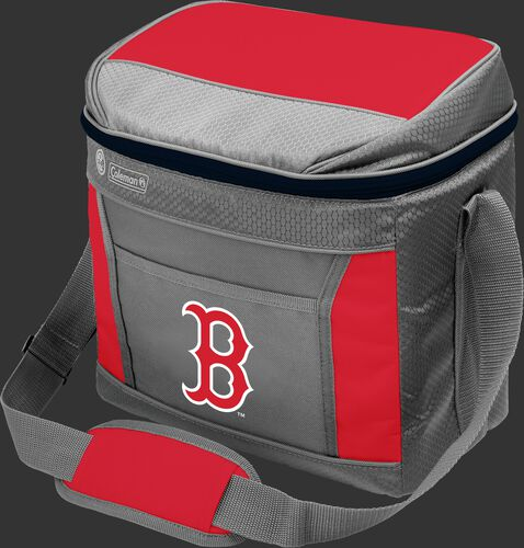 Rawlings Boston Red Sox 16 Can Cooler In Team Colors With Team Logo On Front SKU #03140024111