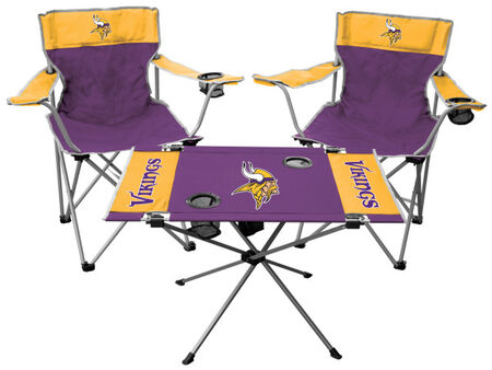 NFL Minnesota Vikings 3-Piece Tailgate Kit