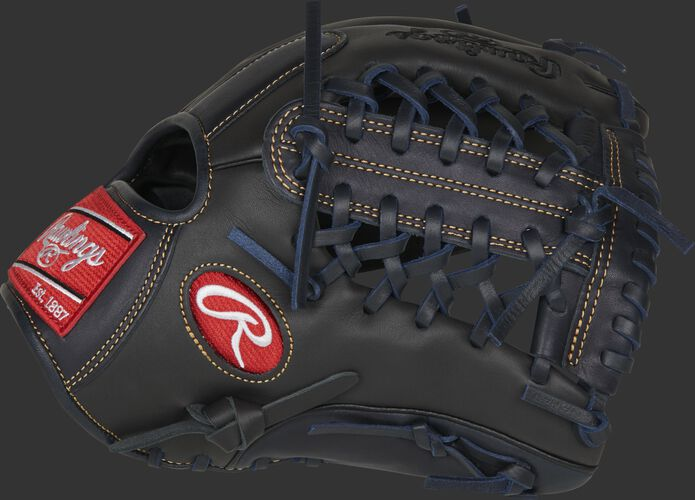 Thumb of a dark shadow GXLE204-4DS Gamer XLE 11.5-Inch infield/pitcher's glove with a dark shadow Modified Trap-Eze web