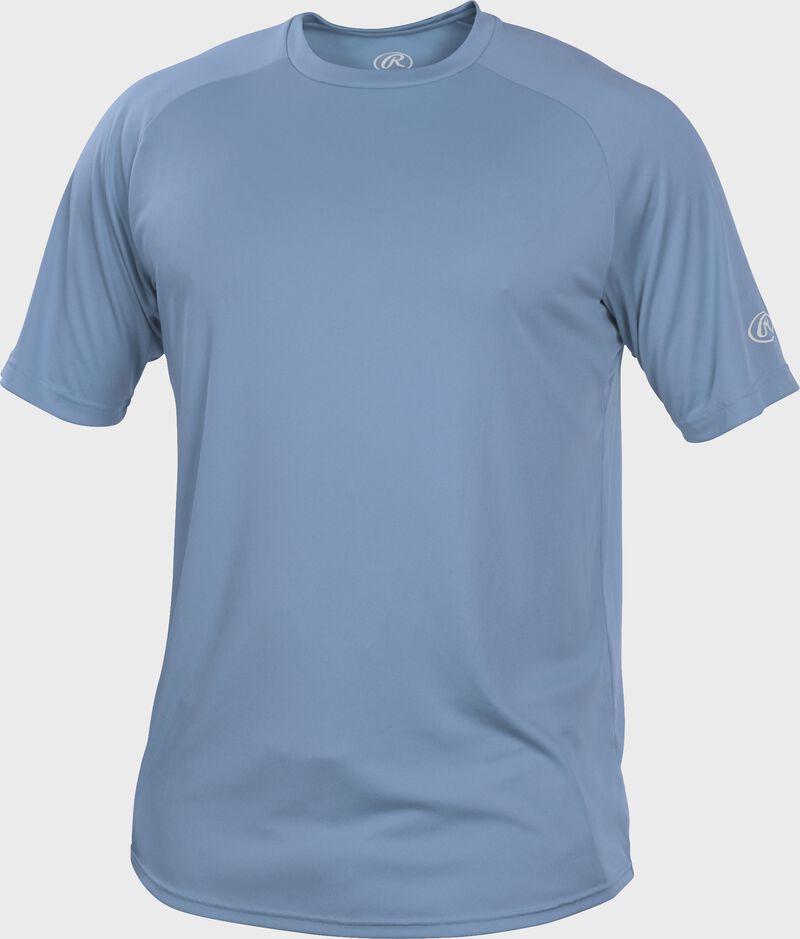 RTT Columbia Blue Adult crew neck short sleeve jersey