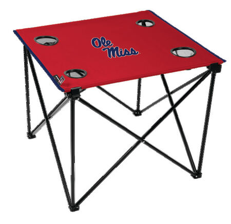 NCAA Ole Miss Rebels Deluxe Tailgate Table