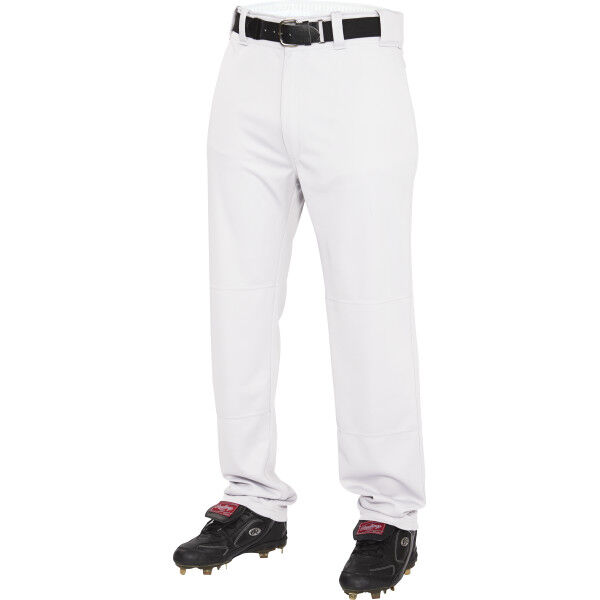 Youth Semi-Relaxed Pant White