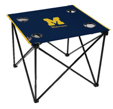 NCAA Michigan Wolverines Deluxe Tailgate Table