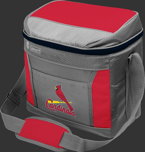 Rawlings St. Louis Cardinals 16 Can Cooler In Team Colors With Team Logo On Front SKU #03140007111