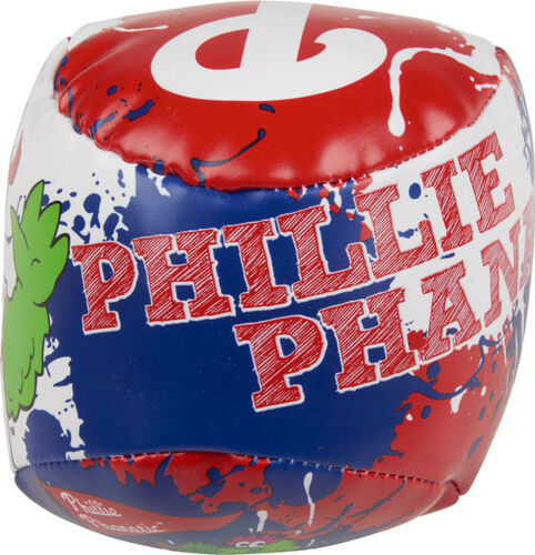 Top of Rawlings Philadelphia Phillies Quick Toss 4'' Softee Baseball With Team Mascot Name On Front In Team Colors SKU #01320020112