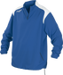 Front of Rawlings Royal Adult Long Sleeve Quarter-Zip Jacket - SKU #FORCEJ-B-88 image number null