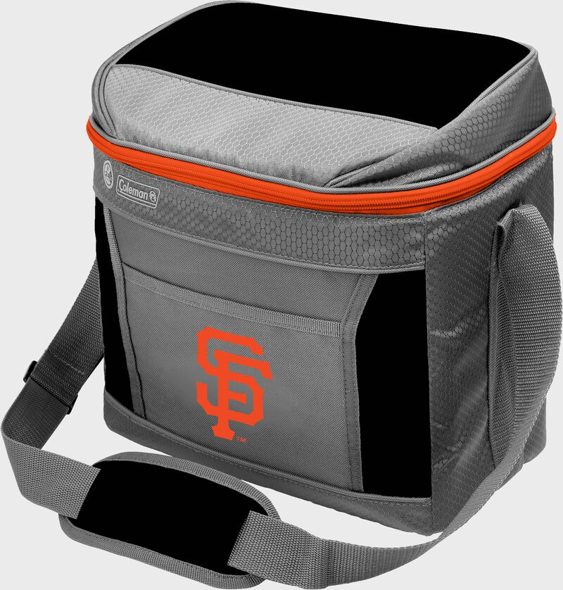 Rawlings San Francisco Giants 16 Can Cooler In Team Colors With Team Logo On Front SKU #031400013111