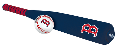 MLB Boston Red Sox Foam Bat and Ball Set