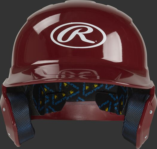 Rawlings Mach Gloss Batting Helmet Cardinal