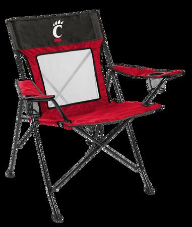 NCAA Cincinnati Bearcats Game Changer chair with the team logo