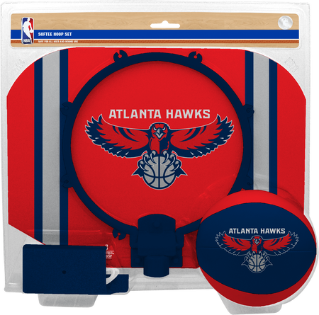 NBA Atlanta Hawks Softee Hoop Set